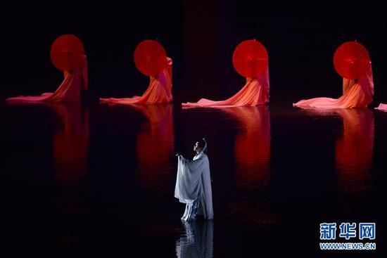 奉节《归来三峡》大型诗词文化实景演艺。资料图片。(摄影:李相博)