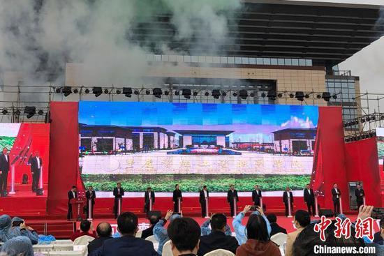 图为重庆智能工程职业学院暨华为(永川)联合技术创新中心12日在重庆永川区正式揭牌投用。 刘相琳 摄