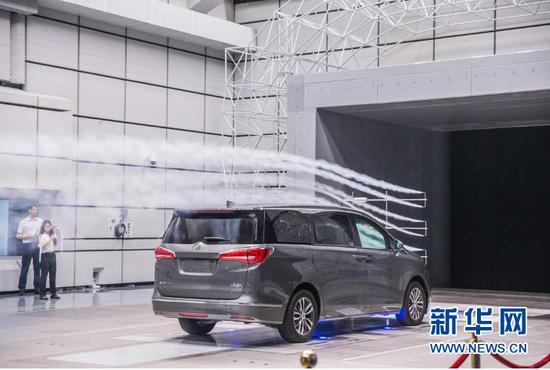 中西部首座汽车风洞28日在重庆建成。新华网发