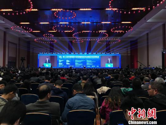 图为第十三届中国城镇水务发展国际研讨会与新技术设备博览会在重庆召开。 钟旖 摄