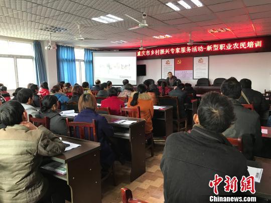 图为重庆官方组织新型职业农民培训。 钟?#20581;?#25668;