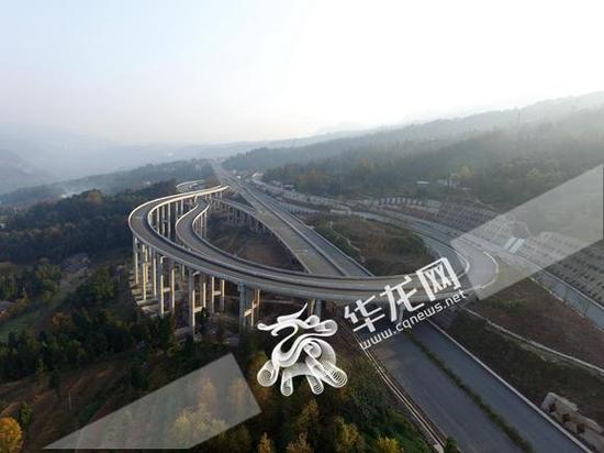 江习高速重庆段预计6月30日通车。