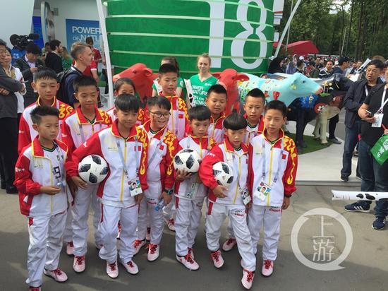 世界杯小球童们