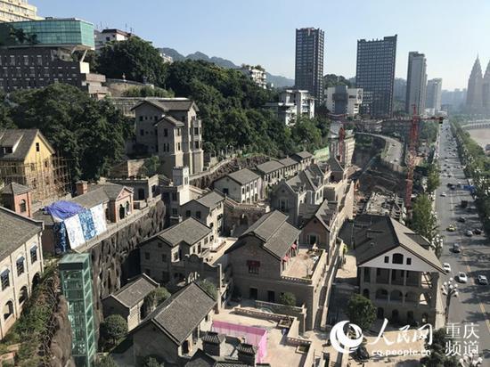 南岸区慈云寺棚改项目改造后。重庆市住房城乡建委供图