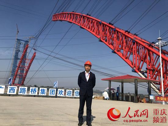 重庆交通大学土木工程学院院长周建庭教授。受访者供图