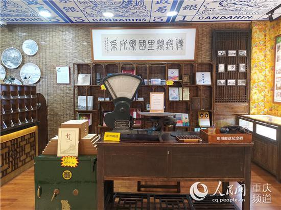 东川邮政管理局复旧场景 陈琦摄