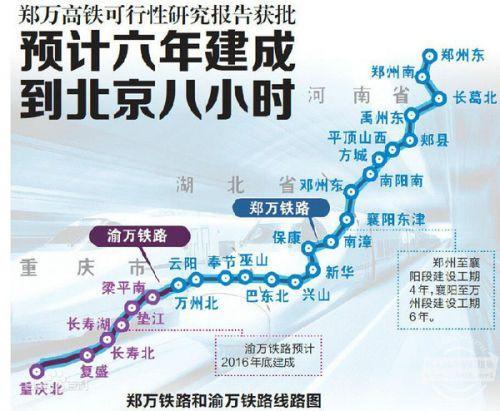 郑万高铁奉节段已正式启动建设 手机新浪网