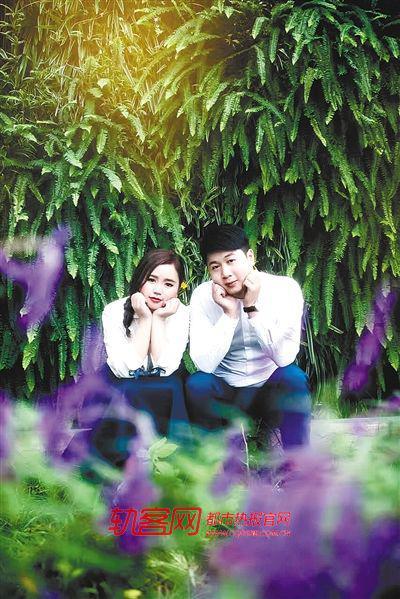 曾经,郭燕和刘海川的生活充满了希望和美好