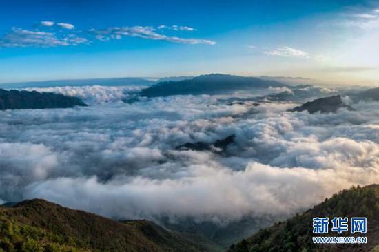 巫山进入四月云雨最佳观赏期