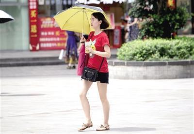 重庆天气:本月下旬连晴少雨 最高气温逼近40℃