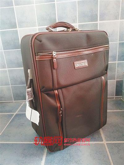 胡女士携带的行李箱并未超过标准