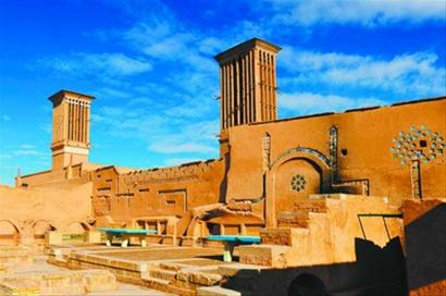 """伊朗风塔:古建筑中的绿色""""空调"""""""
