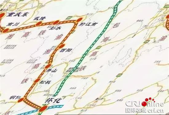 渝湘高铁-重庆又要修六条铁路 这22个区县将受益