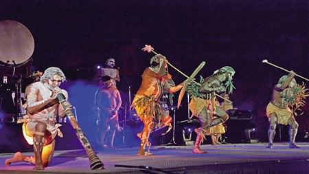 """澳大利亚原住民表演团""""后裔"""" 本组图片由受访者供图"""