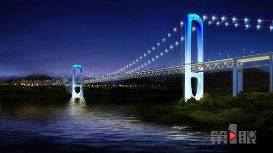 重庆一座新大桥设计图出炉将动工 被颜值惊艳到了
