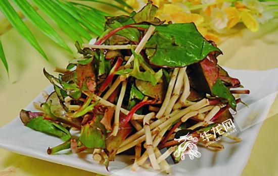 凉拌鱼腥草是重庆人喜爱的美食之一 资料图