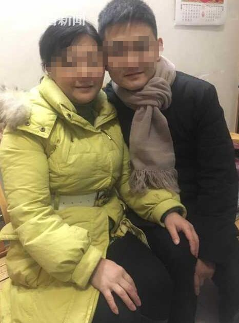 朱晓娟和亲生儿子刘金心