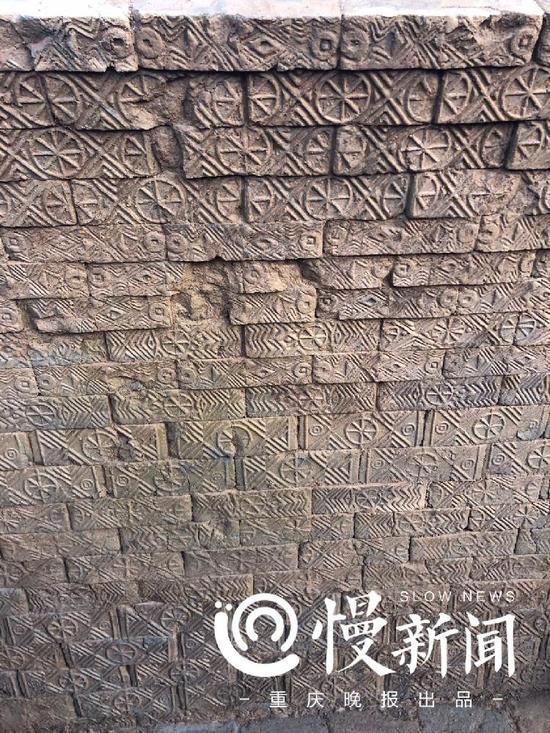汉砖上的雕刻图案