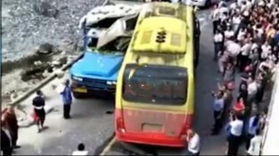 事故现场 视频截图