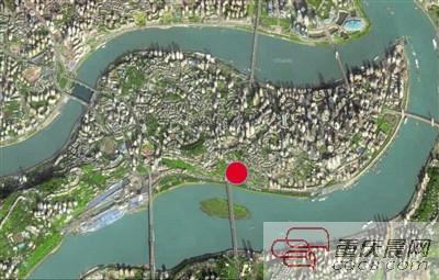 雷家坡古道遗址位置