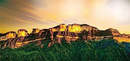 △南川金佛山主峰