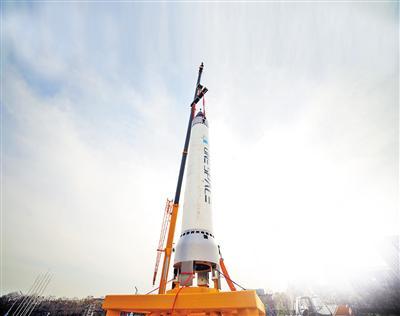 """""""重庆两江之星""""明日发射。"""