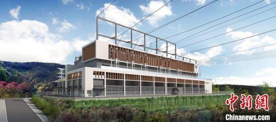 图为重庆500千伏金山变电站效果图。电力公司供图