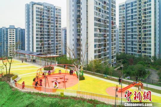 图为交付使用的大水井体育文化公园。 重庆市规划和自然资源局供图 摄