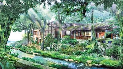 """中国古村落第一泉 金刚碑再现""""小桥、流水、人家"""""""