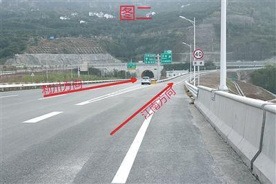 万利高速江南收费站匝道。