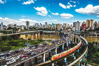 唐安冰拍摄的重庆轨道交通