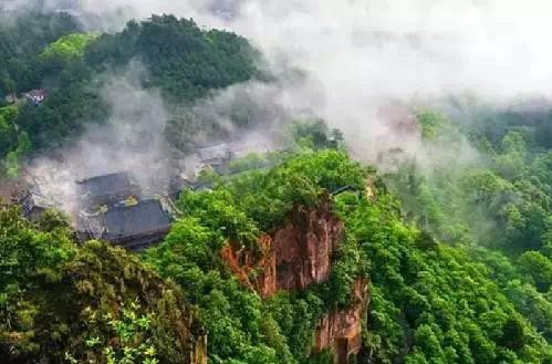 綦江古剑山。图片来源于网络