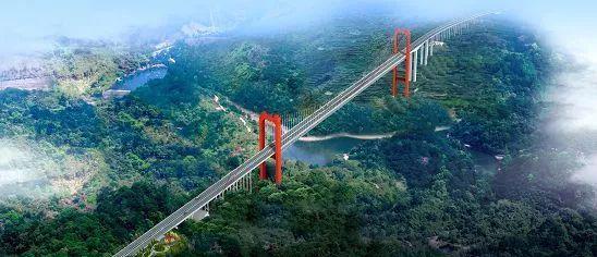 笋溪河特大桥(效果图)
