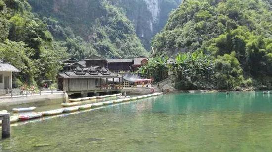 彭水阿依河。图片来源于网络