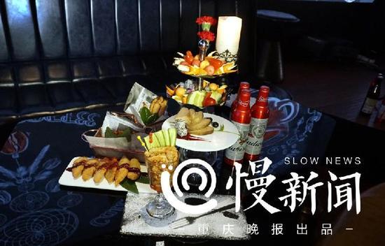 """IF清吧根据马云点的酒水和小吃,马上推出""""马云同款""""套餐"""