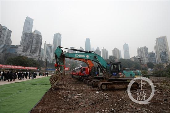△渝中区十八梯传统风貌区及周边基础设施综合配套项目正式启动