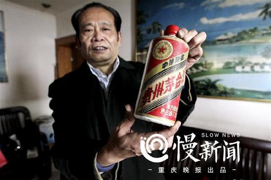 △王小东收藏的1960年产茅台酒,估计20万元