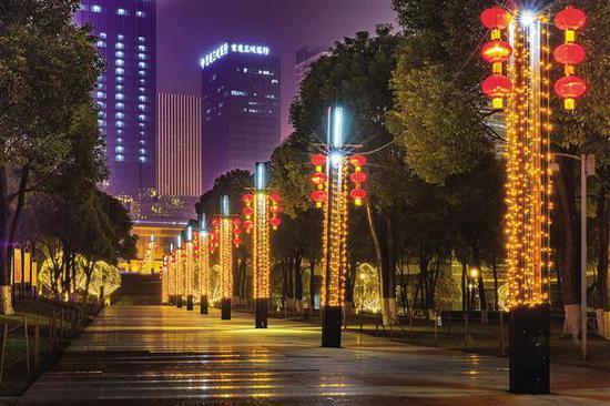江北嘴中央商务区公园中轴线