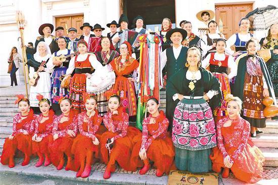 重庆文化代表团新春闪耀葡萄牙