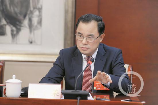 全国人大代表朱华荣。上游新闻·重庆晨报记者 胡杰 摄
