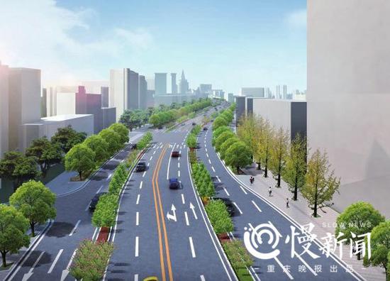 定了!渝州路下月启动拓宽改造 双向4车道变8车道