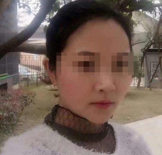 遇害的女教师王某欣(化名)。