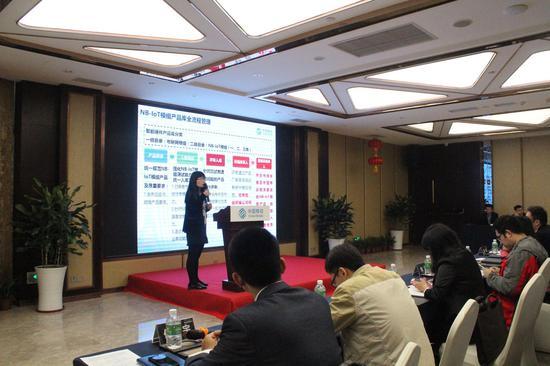 中国移动终端公司通信技术室品质保障部经理曹艳艳