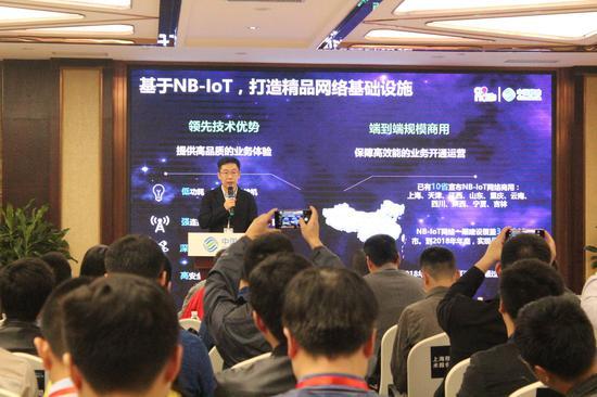 中移物联网有限公司开放平台部副总经理刘琨