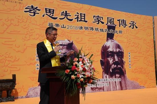 福果山生命纪念园董事长强枫先生谈出了举办此次活动的初衷:
