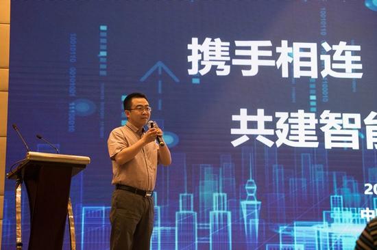 陕西移动重要客户部总经理助理霍文博发言