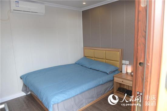 无人值守 智能集装箱酒店亮相重庆高速服务区