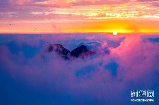 金佛山云海如梦如幻