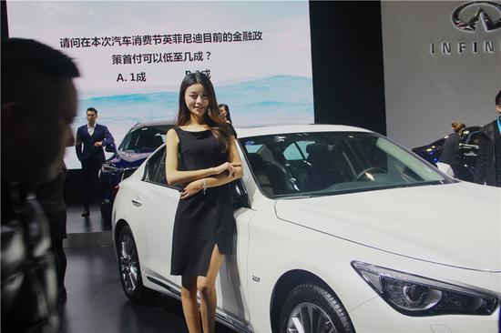 重庆汽车消费节:香车美女两不误 看哪款符合你的气质
