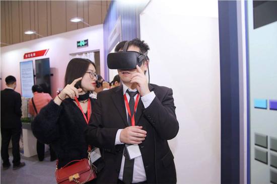 世界最高速电梯VR体验